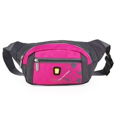 OpetHome Portable Small Water Resistant Nylon Fanny Packs Bag for Hiking Running Sports * Don't get left behind, see this great outdoor item : Backpack