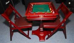 1658: Franklin Mint Monopoly Game Table and Chairs : Lot 1658