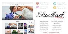 ThemeForest Shootback v1.1.1 – Retina Photography WordPress Theme