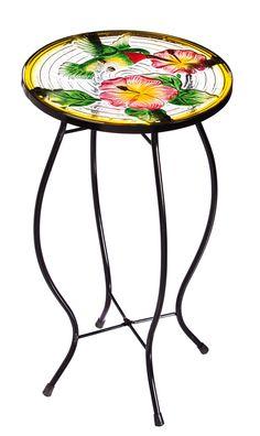 Hovering Hummingbird Side Table