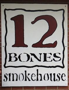 12 Bones! Asheville NC's best BBQ HANDS DOWN the best BBQ ANYWHERE!