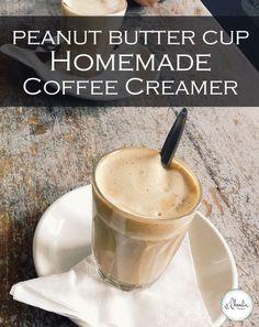 Homemade Coffee Creamer Peanut Butter Cup