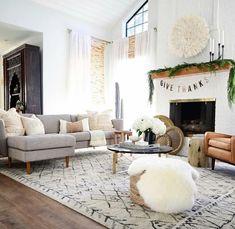 Beautiful cream Juju Hat bringing life to this living room 😍 Grey Furniture, Furniture Design, Boys Desk, Thanksgiving Banner, Vintage Shabby Chic, Decoration, Interior Design Living Room, Dresser Desk, Dekoration