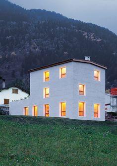 SUBTILITAS Conradin Clavuot - Raselli-Kalt house, Poschiavo 2002