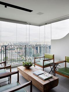 Apartamento Cidade Jardim II / Triplex Arquitetura #varanda #window