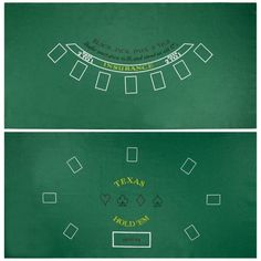 Brybelly Blackjack & Texas Hold 'Em Felt Mat – Gaming Table Top for Poker Games & Blackjack -Casino-Style, Spill-Proof Layout Cloth Card Table Games W, Card Games, Casino Table, Casino Party, Casino Night, Casino Games, Roulette Table, Speakeasy Party, Texas