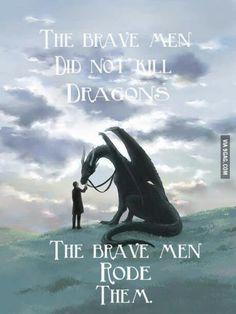Ride the dragon, dont slay 'em