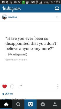 Me. Right now. Too much hurt. But it's ok. I'm used to it