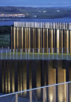 Giant's Causeway Visitor Centre by Heneghan Peng Architects I Like Architecture