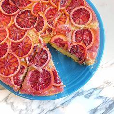 On today's To Do List: enjoy @eatdialba'S blood orange polenta cake. ✔️🍰