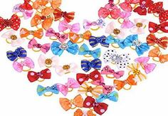 Mcitymall77 50 pcs Handmade Pet Grooming Accessories Mixed Ribbon Hair Bow Dog Rubber Band New Description:  50 x lots of wholesale dog cat puppy lovely hair bow headdress cute flower for dog Color: as the picture Size:a (Barcode EAN = 4894530703359) http://www.comparestoreprices.co.uk/december-2016-week-1-b/mcitymall77-50-pcs-handmade-pet-grooming-accessories-mixed-ribbon-hair-bow-dog-rubber-band-new.asp