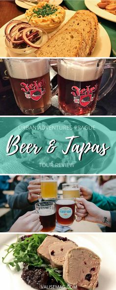 Foodie and beer travel in the Czech Republic: the Urban Adventures Prague Beer & Tapas Tour. Prague Travel Guide, Europe Travel Tips, European Travel, Travel Destinations, Eastern European Recipes, Drinking Around The World, Best Beer, Foods To Eat, Foodie Travel