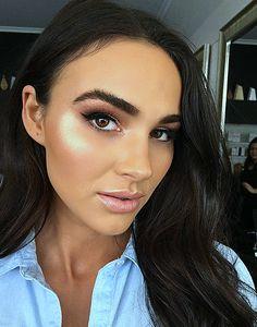 ♥️ Pinterest: DEBORAHPRAHA ♥️ this makeup look is everything!