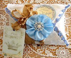 by Terri Gordon... wrapped with hankerchief etc