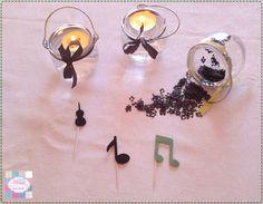 Kit festa | Aniversário Sara | Tema - música   +INFO: mimeoseubebe@gmail.com ou mensagem privada   Pormenor - Mimi lamparina heart emoticon  #mimeoseubebe #mime #festadeaniversário #kitfesta #temamusica