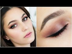 Valentine's Date Night Makeup Tutorial - Chocolate Bar - YouTube