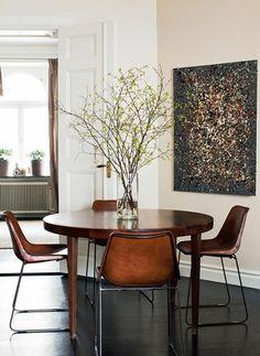 wie sieht das moderne esszimmer aus minimalistische moderne esszimmer m bel holztisch bunte. Black Bedroom Furniture Sets. Home Design Ideas