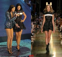 Kylie Jenner hosting the 2014 MMVA's in Canada (June.15) wearing a Alex Perry Ready-To-Wear Spring 2014/2015 Dress.