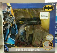 Batman Sonar Listening Kit