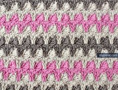MyPicot   Free crochet patterns ~ Both UK & USA instructions. Photo tutorial.  Note to self:  PRINT OUT! ;) Cafe' curtains in size 5 or 3???