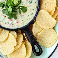 Queso blanco is the sort of dip that makes everyone happy. Serve it up with fresh tortilla chips, pita chips, and fresh veggies too. Mexican Dishes, Mexican Food Recipes, Kale Dip, Kale Slaw, Purple Cabbage Recipes, Fresh Tortillas, Fresh Tomato Salsa, Roasted Corn, Football Food