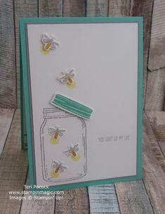 UK Demonstrator - Teri Pocock: Jar of Love - Fireflies Birthday Gifts For Teens, Birthday Cards, Teen Birthday, Love Jar, Mason Jar Cards, Spellbinders Cards, Love Stamps, Stamping Up Cards, Cards For Friends