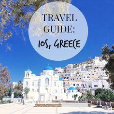 TRAVEL GUIDE TO IOS GREECE travel blogger, travel blog, greece, grecia, ios grece, what to do in ios greece, island hopping