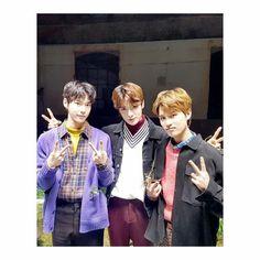 Doyoung, Jaehyun and Taeil