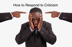 It's hard to hear criticism, but if you can respond well, it can be more productive for everyone involved. Here's how. #criticism #feedback #communication