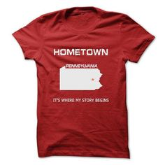 Hometown-PA27 - #tee aufbewahrung #hoodie womens. BUY TODAY AND SAVE => https://www.sunfrog.com/LifeStyle/Hometown-PA27.html?68278