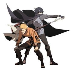 Sasuke Uchiha and Naruto Uzumaki Sasunaru, Anime Naruto, Naruto Shippuden, Naruto Vs Sasuke, Sasuke Sharingan, Sarada E Boruto, Manga Anime, Naruto Fan Art, Narusasu