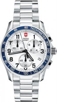 Men's Classic Chronograph Silver Dial Stainless Steel