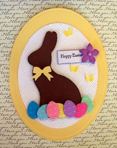 DIY Easter cards Totally trying this! Hoppy Easter, Easter Gift, Easter Bunny, Easter Projects, Easter Crafts, Paper Cards, Diy Cards, Diy Easter Cards, Handmade Easter Cards