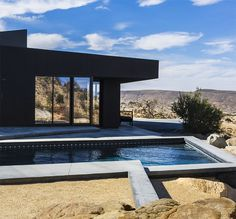 If It's Hip, It's Here: A Modern Oasis In the Middle Of Yucca Valley: The Black Desert House Is Stylish Inside and Out.