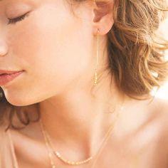 AUDREY earrings by Katie Dean Jewelry.