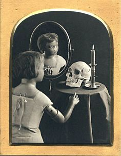 "ghoulnextdoor:    ""Melancholy"" daguerreotype, Spring Hurlbut and Mike Robinson, 2003"