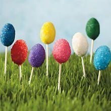 Easter cake pops...adorable!