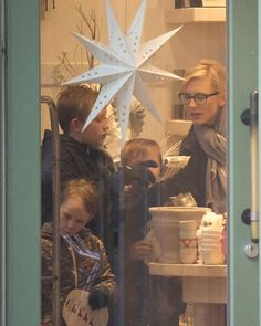 Cate Blanchett and her sons