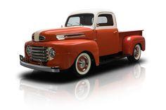 1948 Ford F1 Pickup Truck Orange