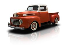 1948 Ford F1 Pickup Truck Frame Off Built F1 Pickup Custom 350 V8 700R4 4 Speed PS Disc Brakes A/C