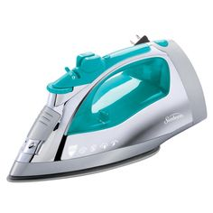 Shark Professional 1600 Watts Electric Steam Iron GI405 Blue Garment Steamer with Auto-Shut Off and Stainless Steel Soleplate