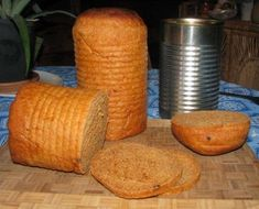 Tin Can Sandwich Bread