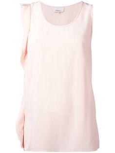 3.1 PHILLIP LIM Sleeveless Ruffle Top. #3.1philliplim #cloth #top