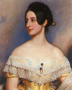 Lady Emily Milbanke (1822-1910), dritte Tochter des Earl of Mansfield, Esquire of Diggeswell, Ehefrau von Sir John Ralph Milbanke, englischer Gesandter in München,