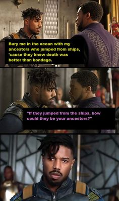 I really wanted Black Panther to respond to Killmonger with this line. (MAJOR SPOILERS) Marvel Show, Marvel Dc, Ricky Bell New Edition, Black Panther Quotes, Panthers Memes, Michael Bakari Jordan, Panther Pictures, Lion Tattoo Sleeves, Erik Killmonger