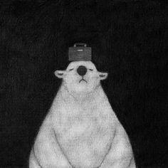(via Polar bear never feel alone | Satoshi OTA web)