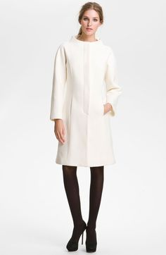 Milly Claudine Seamed Coat