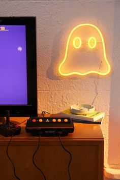 Ghost Neon Sign | Urban Outfitters