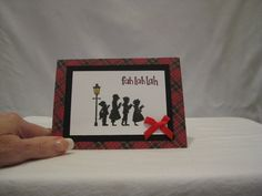 Christmas carolors by LorisCardCreationsUS on Etsy