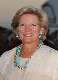 Queen Consort Anne-Marie of Greece, sister of Queen Margarethe of Denmark, wife of King Constantine.  Monarchy was abolished in 1973.